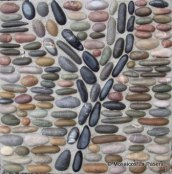 abstract-pebble-mosaic