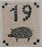 Pig Mosaic