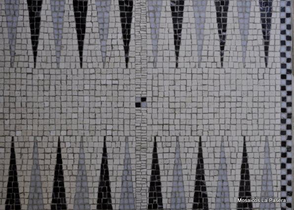 Backgammon mosaicos la pasera for Slap juego de mesa