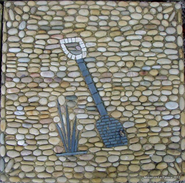 Dise o de jardines con mosaico de piedras 3 mosaicos la for Disenos para mosaicos